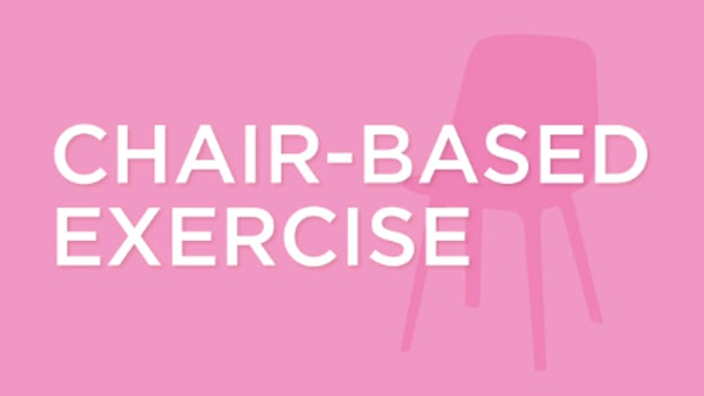 Live Wednesday Workout: ChairFit 10.16.19