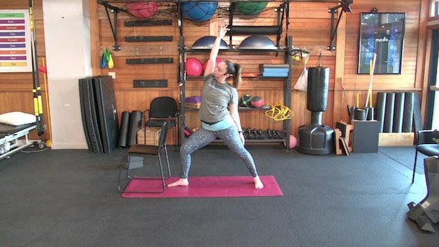 Yoga with Josie: Spring Warm Up (3.12.21)