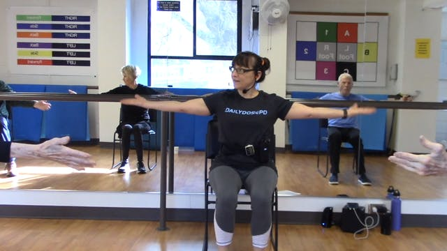 ChairFit Class with France:  Session ...