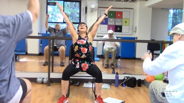 ChairFit Class with France: Session 11, Season 1