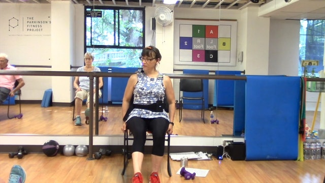 ChairFit Class with France: Session 7, Season 1