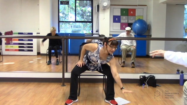 Chairfit Class with France: Session 13, Season 1