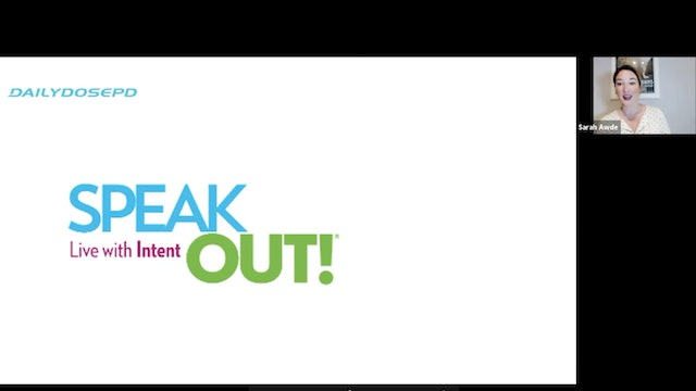 Speak Out: 2.10.21