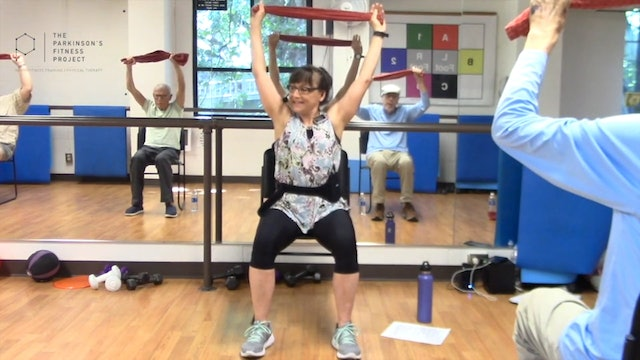 ChairFit Class with France: Session 4, Season 1