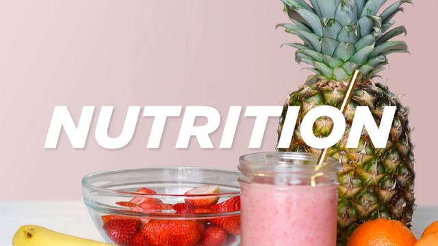Nutrition Talk with Jennette: The 3 S's