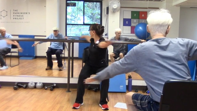 ChairFit Class with France: Session 8, Session 1