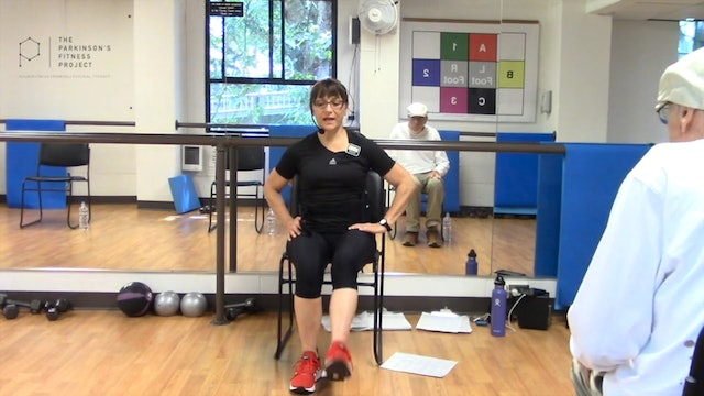 ChairFit Class with France: Session 6, Season 1