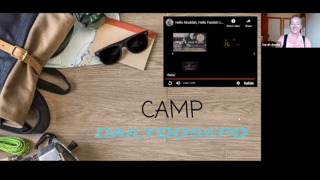 Voice Training: 7.28.21 (Summer Camp)