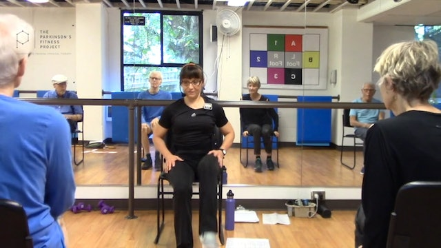 ChairFit Class with France: Session 1, Season 1