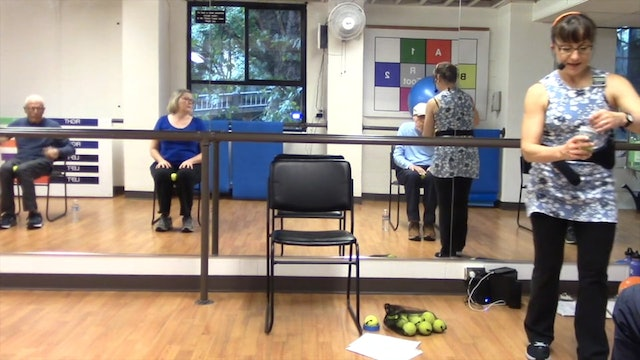 Chairfit Class with France: Session 14