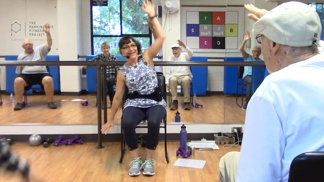 ChairFit Class with France: Session 3, Season1
