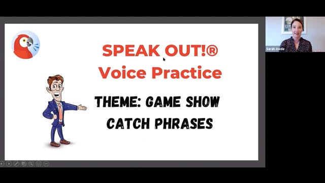 Voice Training: Speak Out (Game Show ...