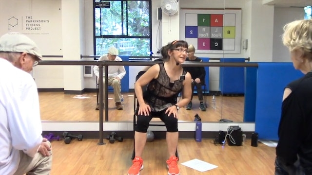 ChairFit Class with France: Session 5, Season 1