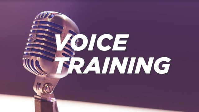 Introduction to Voice Training