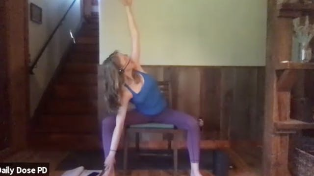 Yoga with Dana: Upper Body Twists (6....