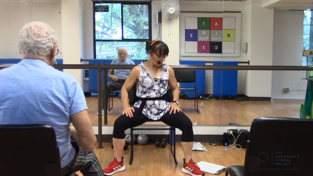 ChairFit Class with France: Session 10, Season 1