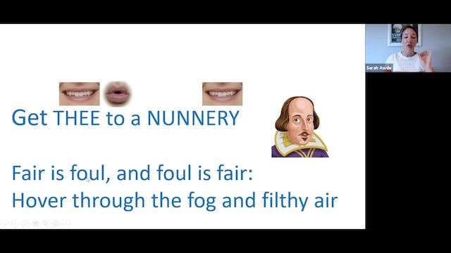Voice Training: Shakespeare Theme (5....