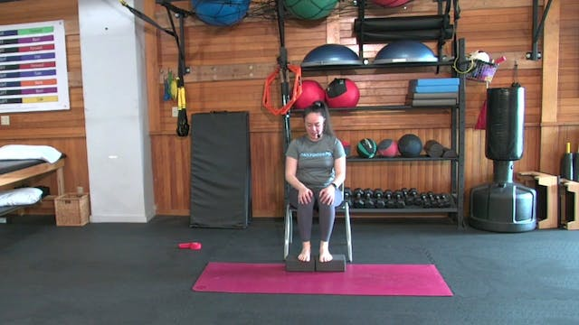 Yoga with Josie: Chair-Based Yoga (8....