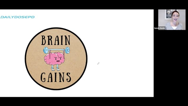 Voice Training: Brain Gains (2.24.21)