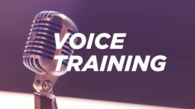 Livestream Voice Training: 5/29/19