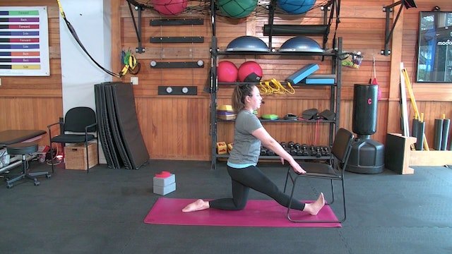 Yoga with Josie: Stress Relief in the Hips (1.10.21)