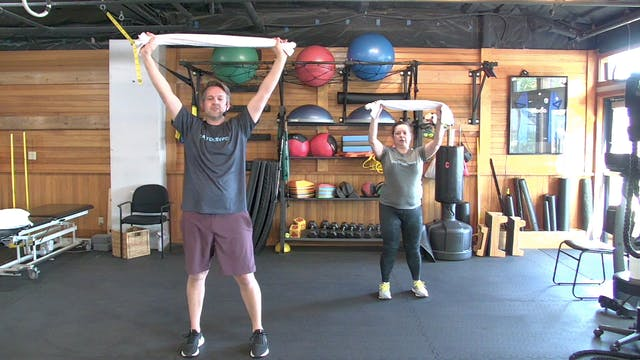 A.M.P. Class: Towel Workout (4.5.21)