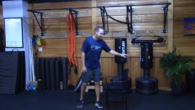 Chair Workout with Nate: Session 5