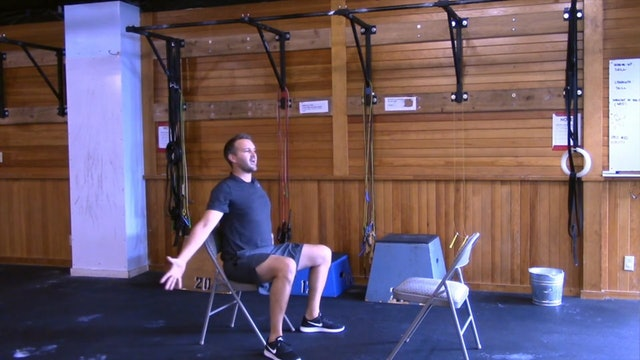 Chair Workout with Nate: Session 1