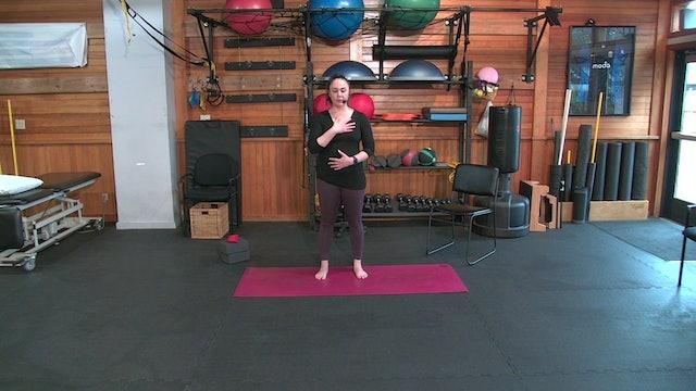 Yoga with Josie: Balance Restoration (3.5.21)