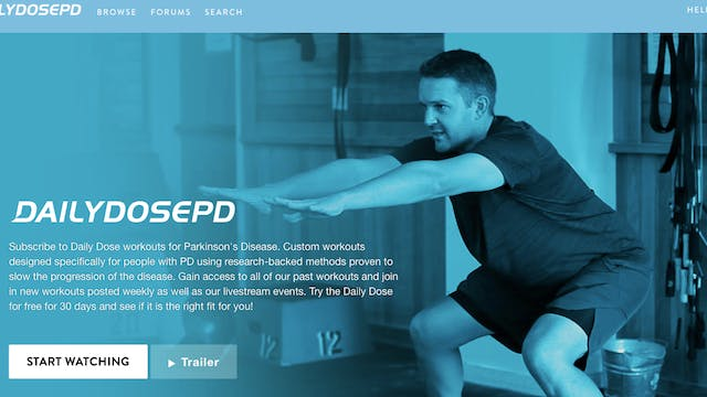 5 Essentials of Exercise for PD