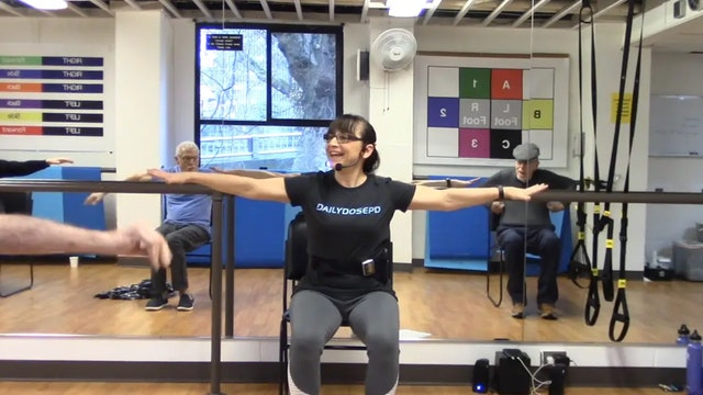 ChairFit Class with France: Session 5, 2019