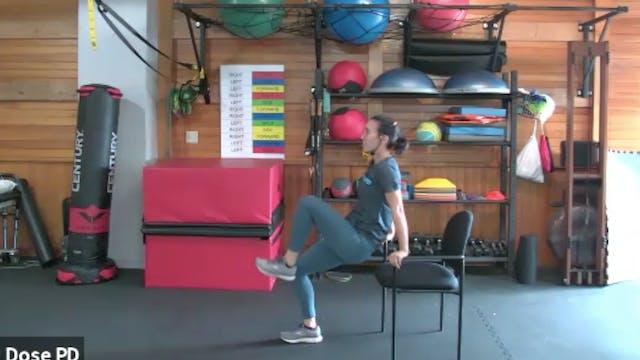 High Intensity Training: Chair Workou...
