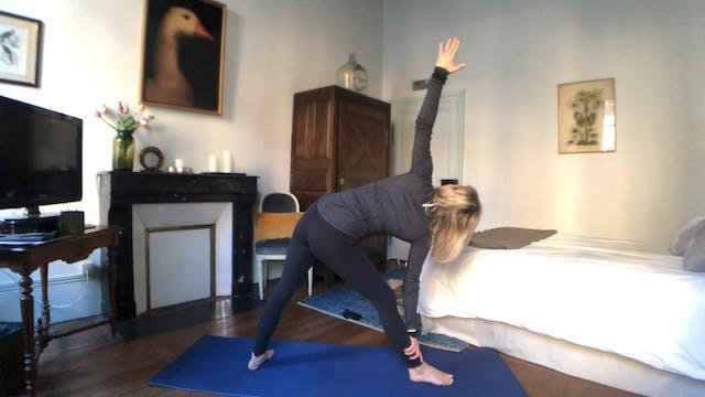 Pre-Sing Yoga Practice