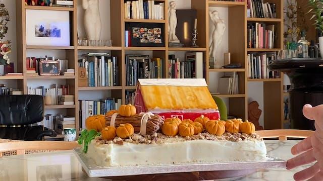 Pumpkin Patch Carrot Cake