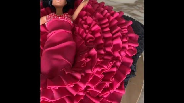 Anna Netrebko Cake