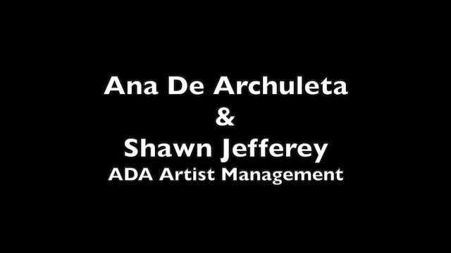 Ana de Archuleta and Shawn Jeffery