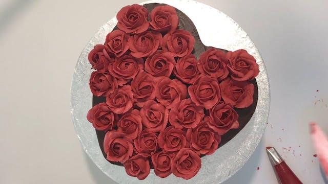 Double Chocolate Cake with Swiss Meri...