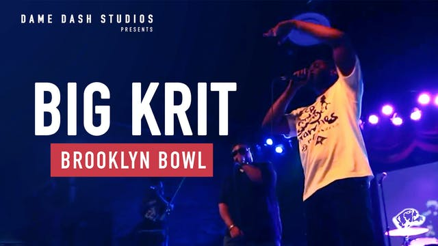 Big K.R.I.T. Brooklyn Bowl Performance