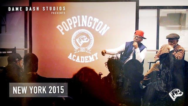 Poppington University New York 2015