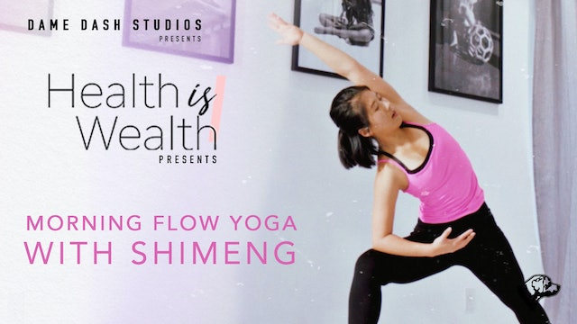 Yoga With Shimeng: Morning Flow Yoga