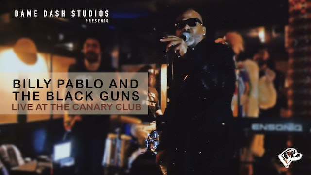 Time's Up - Billy Pablo & The Black Guns - Live at the Canary Club