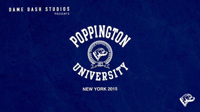 Poppington University New York 2015