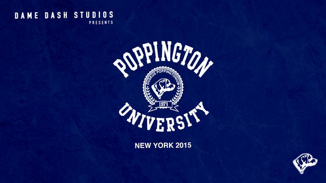 Poppington University New York 2015 -...