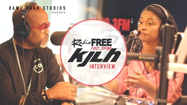 KJLH Interview With Dame Dash