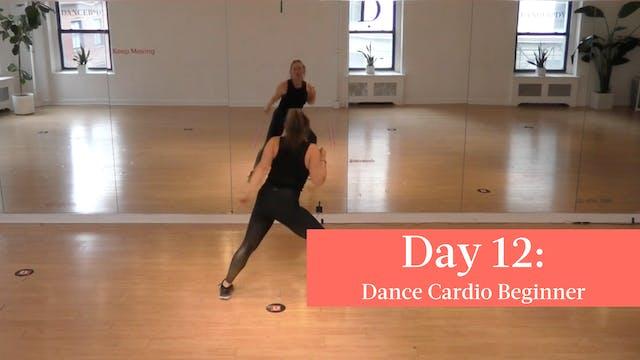 Day 12 - 009 Dance Cardio Beginner