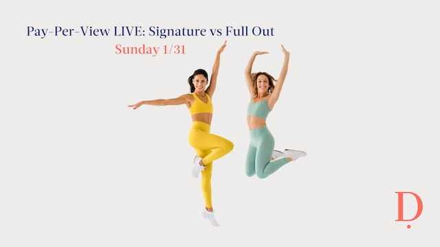 Pay-Per-View LIVE: Signature vs. Full Out - 1/31