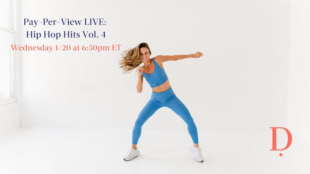 Pay-Per-View LIVE: Hip Hop Hits Vol. 4 - 1/20