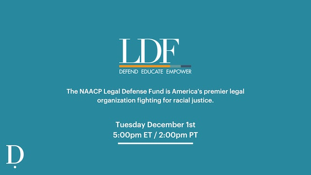 Pay-Per-View LIVE: NAACP Donation Class - 12/1