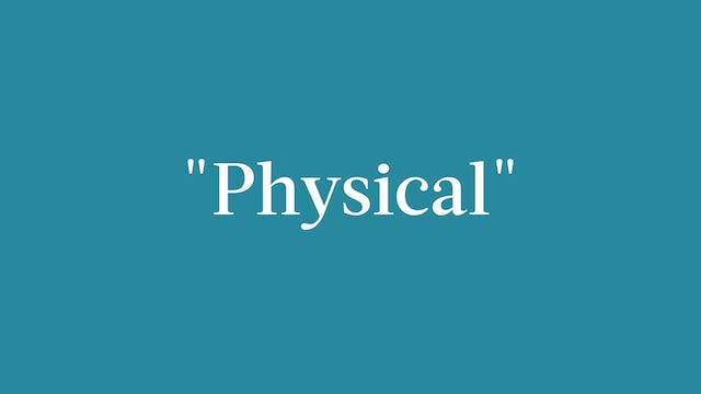 """Physical"" Breakdown - Signature"