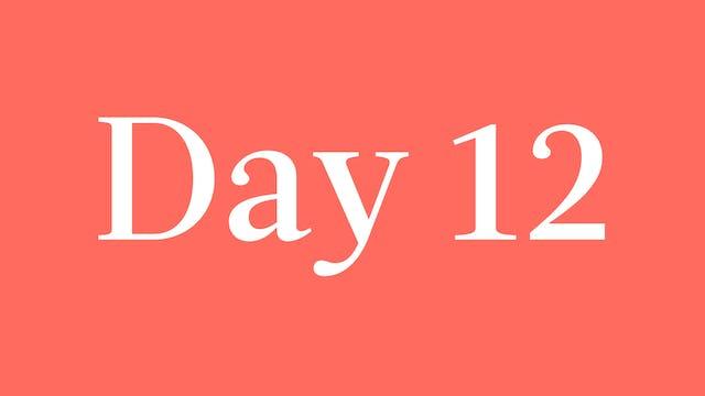 Day 12: Courtnay